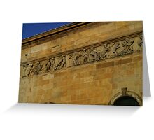 Leith Corn Exchange Greeting Card