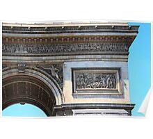 Arc de Triomphe detail Poster