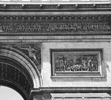 Arc de Triomphe Detail II by Louise Fahy