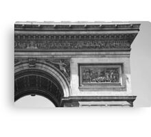 Arc de Triomphe Detail II Canvas Print