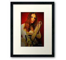 Crimson Deep Framed Print
