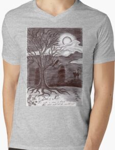 In the Dead of Night Mens V-Neck T-Shirt