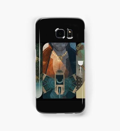 Dragon Age Inquisition Companion Tarot Cards Samsung Galaxy Case/Skin