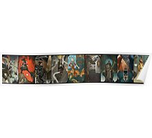Dragon Age Inquisition Companion Tarot Cards Poster