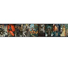 Dragon Age Inquisition Companion Tarot Cards Photographic Print