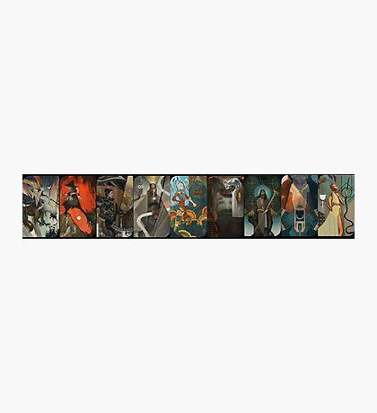 Dragon Age Inquisition Companion Tarot Cards Photographic Print
