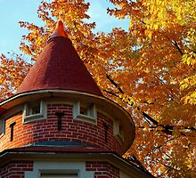 The Carriage House Casa Loma in the Fall by ALphoto