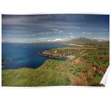 Connemara coastline view Poster