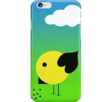 Cool chick and cloud iPhone Case/Skin