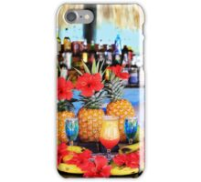 Tropical colourful cocktails iPhone Case/Skin