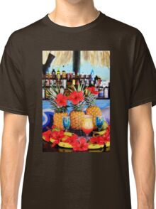 Tropical colourful cocktails Classic T-Shirt