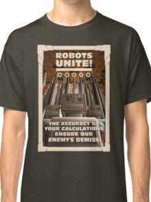 Robots Unite Classic T-Shirt