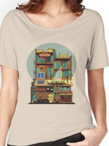 Library Study Women's Relaxed Fit T-Shirt