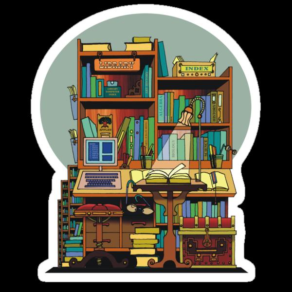 Library Study by ArtoJ