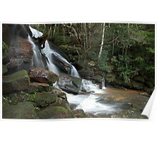 111mm - Somersby Falls, NSW Poster