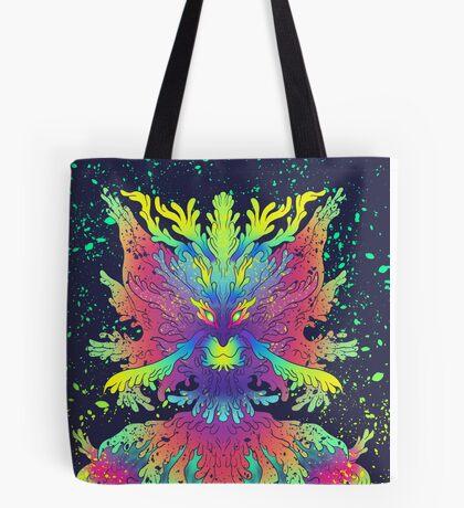 Neon Critter Tote Bag
