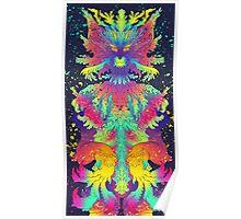 Neon Critter Poster