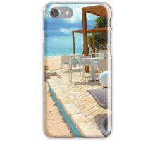Beach bar in Punta Cana iPhone Case/Skin