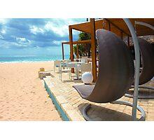 Beach bar in Punta Cana Photographic Print