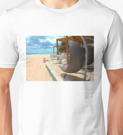Beach bar in Punta Cana Unisex T-Shirt