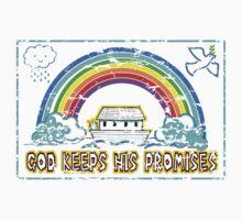 GOD KEEPS HIS PROMISES Kids Clothes