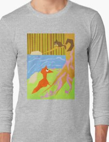 The Fox And Squirrel Long Sleeve T-Shirt