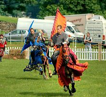The Blue and Orange Knights.. by Jamie  Green
