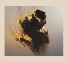 """Halo 3 ODST- """"Burning"""" Artwork T-Shirt"""