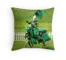 The Green Knight.. Throw Pillow