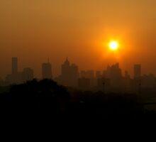 Smoked Melbourne II by Richard Heath