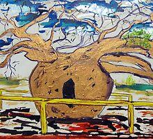 Prison Boab  by gillsart