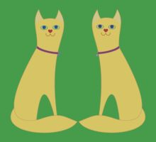 A Pair Of Kitty Cats Kids Tee