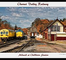 Cheddleton Station Framed by David J Knight