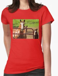 The Thinking Horses Womens Fitted T-Shirt