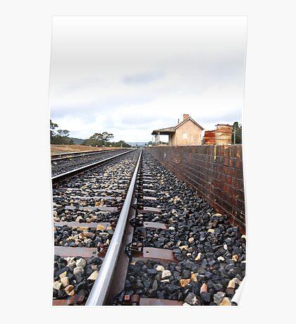 Ben Bullen Railway Station NSW Australia Poster