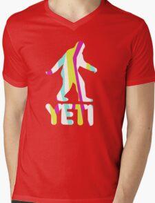 Grand Theft Yeti Mens V-Neck T-Shirt