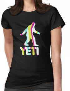 Grand Theft Yeti Womens Fitted T-Shirt