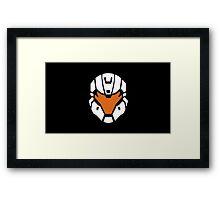 Halo - Spartan Strike Helmet Logo Framed Print