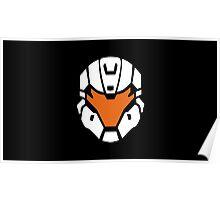 Halo - Spartan Strike Helmet Logo Poster