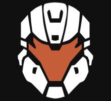 Halo - Spartan Strike Helmet Logo by x3loaded
