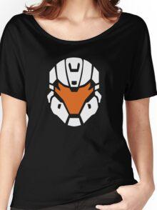 Halo - Spartan Strike Helmet Logo Women's Relaxed Fit T-Shirt