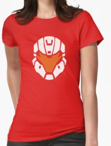 Halo - Spartan Strike Helmet Logo Womens Fitted T-Shirt
