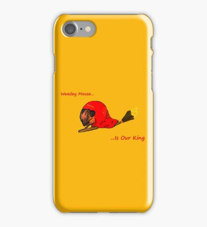 Weasley Mouse iPhone Case/Skin