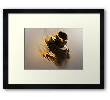 "Halo 3 ODST - ""Burning"" Artwork Poster Framed Print"
