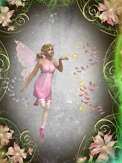 Sprinkling a little fairy dust... by michellerena