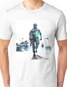 Battlefield 3 White Unisex T-Shirt