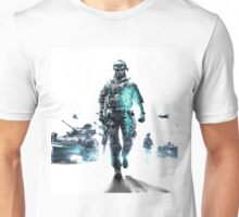 Battlefield 3 White Unisex T-Shirt