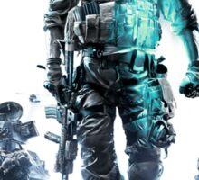 Battlefield 3 White Sticker