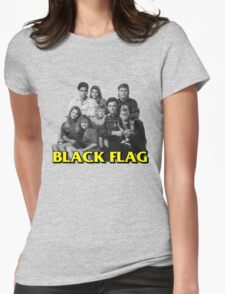 Full Flag Womens Fitted T-Shirt