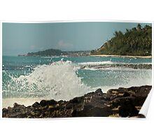 Pounding The Coast Poster